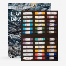 Unison Colour : Soft Pastel : Robert Dutton Moorland Set of 36 and The Innovative Artist : Drawing Dramatic Landscapes Book