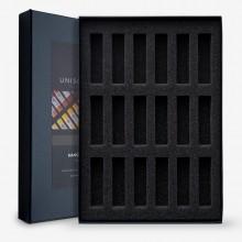 Unison Soft Pastels: Leer schwarz 18 Box