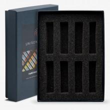Unison Soft Pastels: Leer schwarz 8 Box