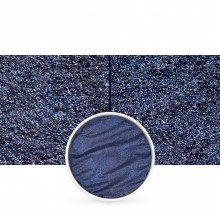 Finetec : Coliro : Pearlcolors : Mica Watercolour Paint : 30mm Refill : Royal Blue M038