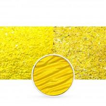 Finetec : Coliro : Pearlcolors : Mica Watercolour Paint : 30mm Refill : Vibrant Yellow M043