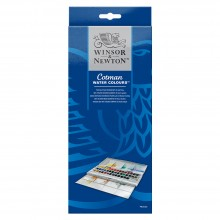 Winsor & Newton : Cotman : Watercolour Studio Set : 45 Half Pans