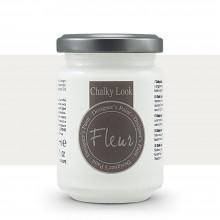 Fleur : Designer's Paint : Chalky Look : 130ml : F01 Titanium White