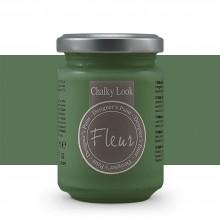 Fleur : Designer's Paint : Chalky Look : 130ml : F48 Chomium Green