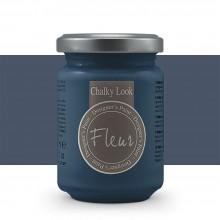 Fleur : Designer's Paint : Chalky Look : 130ml : F66 Trendsetter Blue