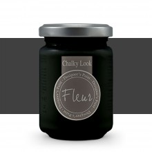 Fleur : Designer's Paint : Chalky Look : 130ml : F77 Black