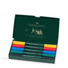 Faber Castell : Albrecht Durer : Watercolour Marker : Wallet Set of 5