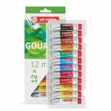 Royal Talens : Art Creation : Gouache Paint : 12ml : Set of 12