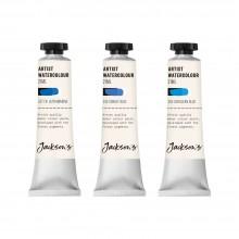 Jackson's : Artist Watercolour Paint : Blue Set 1 : 21ml : Set of 3