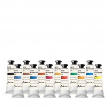 Jackson's : Artist Watercolour Paint : 10ml : Set of 12
