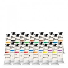 Jackson's : Artist Watercolour Paint : 10ml : Set of 24