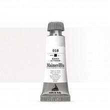 MaimeriBlu : Watercolour Paint : 12ml : Titanium White