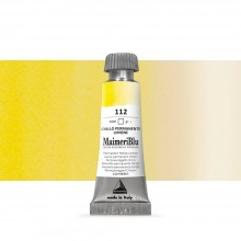 MaimeriBlu : Watercolour Paint : Half Pan : Permanent Yellow Lemon
