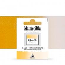 MaimeriBlu : Watercolour Paint : Half Pan : Permanent Yellow Deep