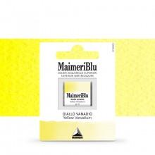MaimeriBlu : Watercolour Paint : Half Pan : Yellow Vanadium
