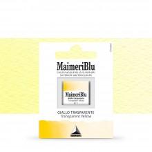 MaimeriBlu : Watercolour Paint : Half Pan : Transparent Yellow