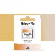 MaimeriBlu : Watercolour Paint : Half Pan : Yellow Ochre