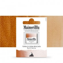 MaimeriBlu : Watercolour Paint : Half Pan : Burnt Sienna