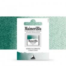 MaimeriBlu : Watercolour Paint : Half Pan : Cobalt Green
