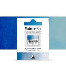 MaimeriBlu : Watercolour Paint : Half Pan : Primary Blue Cyan