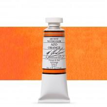 M. Graham : Artists' Watercolour Paint : 15ml : Azo Orange