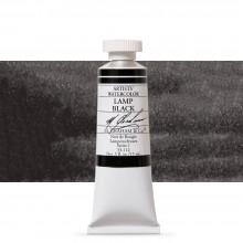 M. Graham : Artists' Watercolour Paint : 15ml : Lamp Black