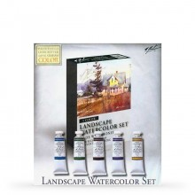 M. Graham : Artists' Watercolour Paint : 15ml : Landscape Set of 5