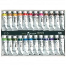 ShinHan : Premium Extra Fine Watercolour Paint : 15ml : Set of 24