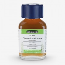Schmincke Aquarell Gummi arabicum: 60ml Glas