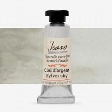 Isaro : Watercolour Paint : 7ml : Silver Sky