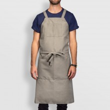 Jackson's : Adjustable Artist Apron : Grey