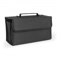 Jackson's : Marker Pen Case : Black Nylon: Holds 80 Markers