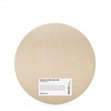 Jackson's : 6mm Circular Plywood Panel : 40cm Diameter