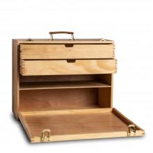 Handover  :  Wooden  Kit  Box  45  x  35  x  20cm  :  QUALITY  1