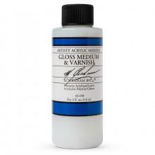 M. Graham : Artist's Acrylic Medium : 118ml : Gloss Medium and Varnish