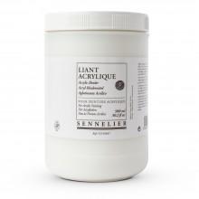 Sennelier: 900ml Acryl Medium binden