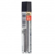 Pentel : Super Hi-Polymer : 0.5mm Lead Refill Packs for XP205