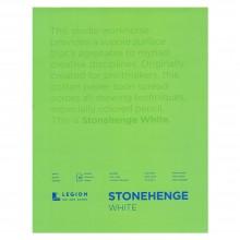 Stonehenge Pad 15 Blatt 11 x 14 Zoll White Farbe