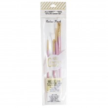 Royal Brush : Gold & White Nylon Brush Sets