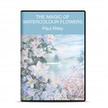 APV : DVD : Magic Of Watercolour Flowers : Paul Riley
