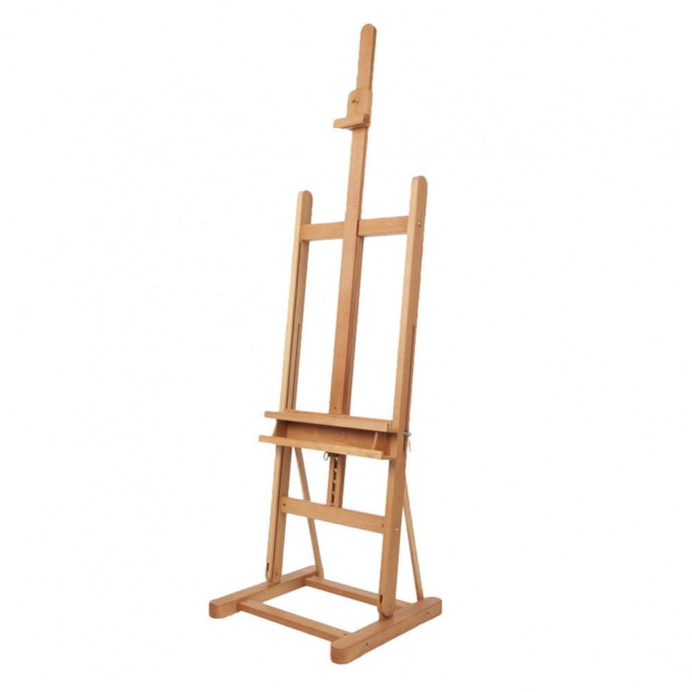 Mabef : M09  Chevalet d'Atelier Hêtre Verni : Hauteur de 67 à 93 in : Châssi Max de 46 in