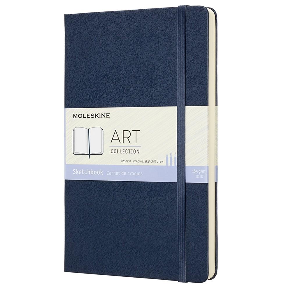 Moleskine : Art Collection : Cahier de Croquis : 165g : Couverture Rigide: 13x21cm