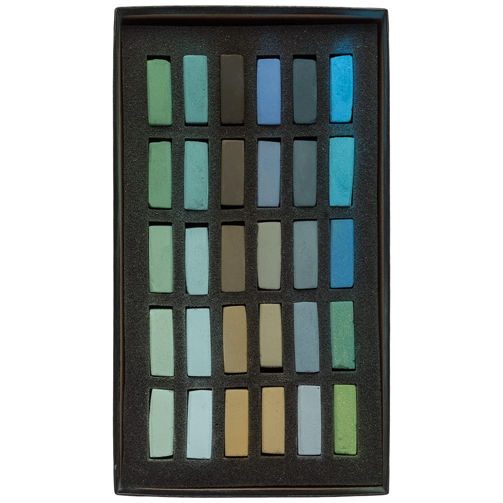 Terry Ludwig : Soft Pastel Set : 30 Cool Greens