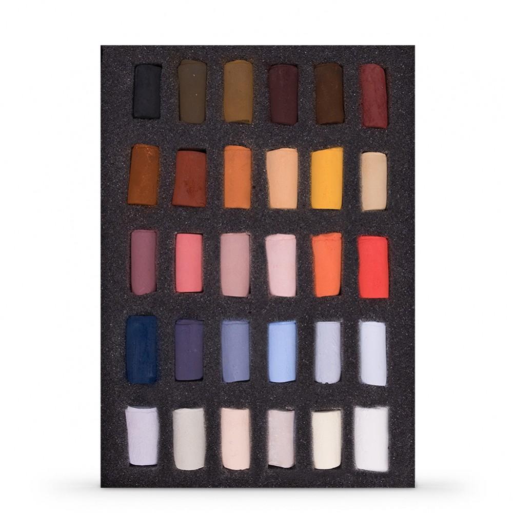 Unison : Soft Pastel : Emma Colbert Animal Set of 30 Half Sticks
