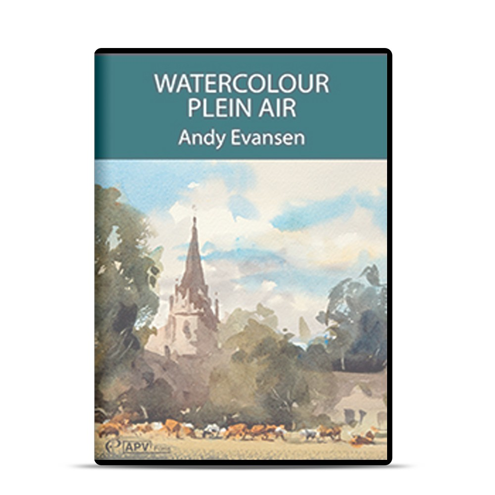 APV : DVD : Watercolour Plein Air : ety Evansen
