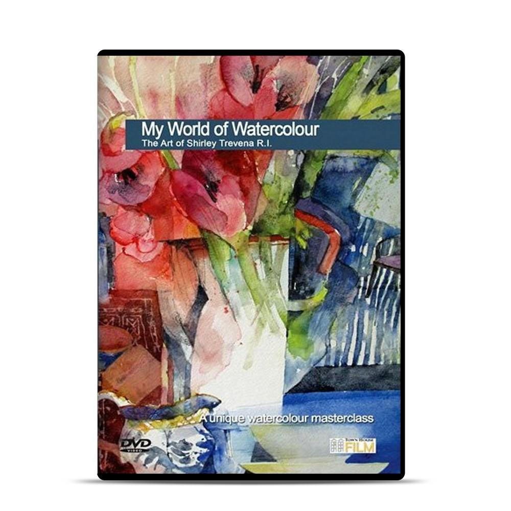 Townhouse : DVD : My World of Watercolour, The Art of Shirley Trevena R I : Shirley Trevena