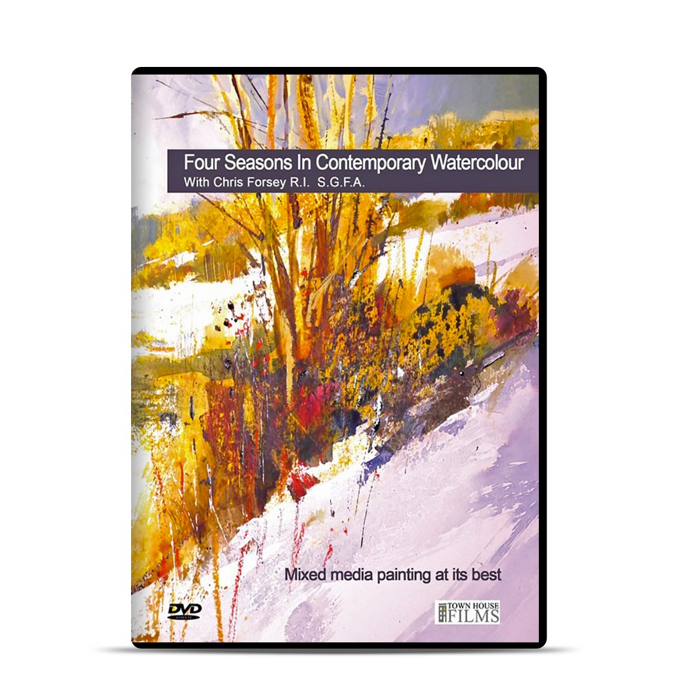 Townhouse : DVD : Four Seasons In Contemporary Watercolour avec Chris Forsey R.I.