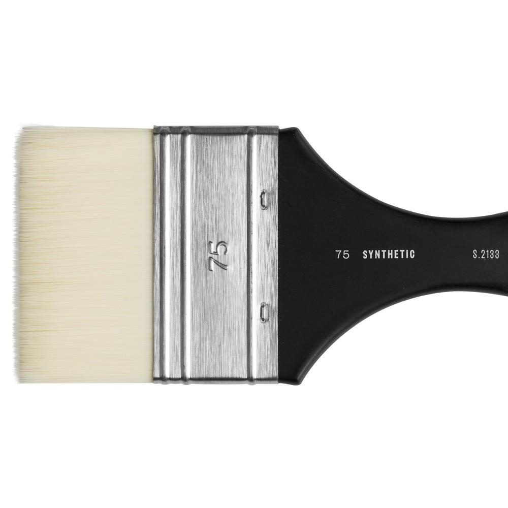 Jackson's :Pinceau Mottler, Poils Synthétiques, Blanc : 75mm