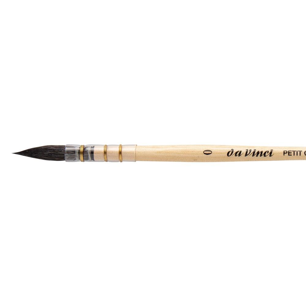 Da Vinci : Aquarelle :Pinceau: Poil d'Hérisson de Russie : Série: Série 408 : #0