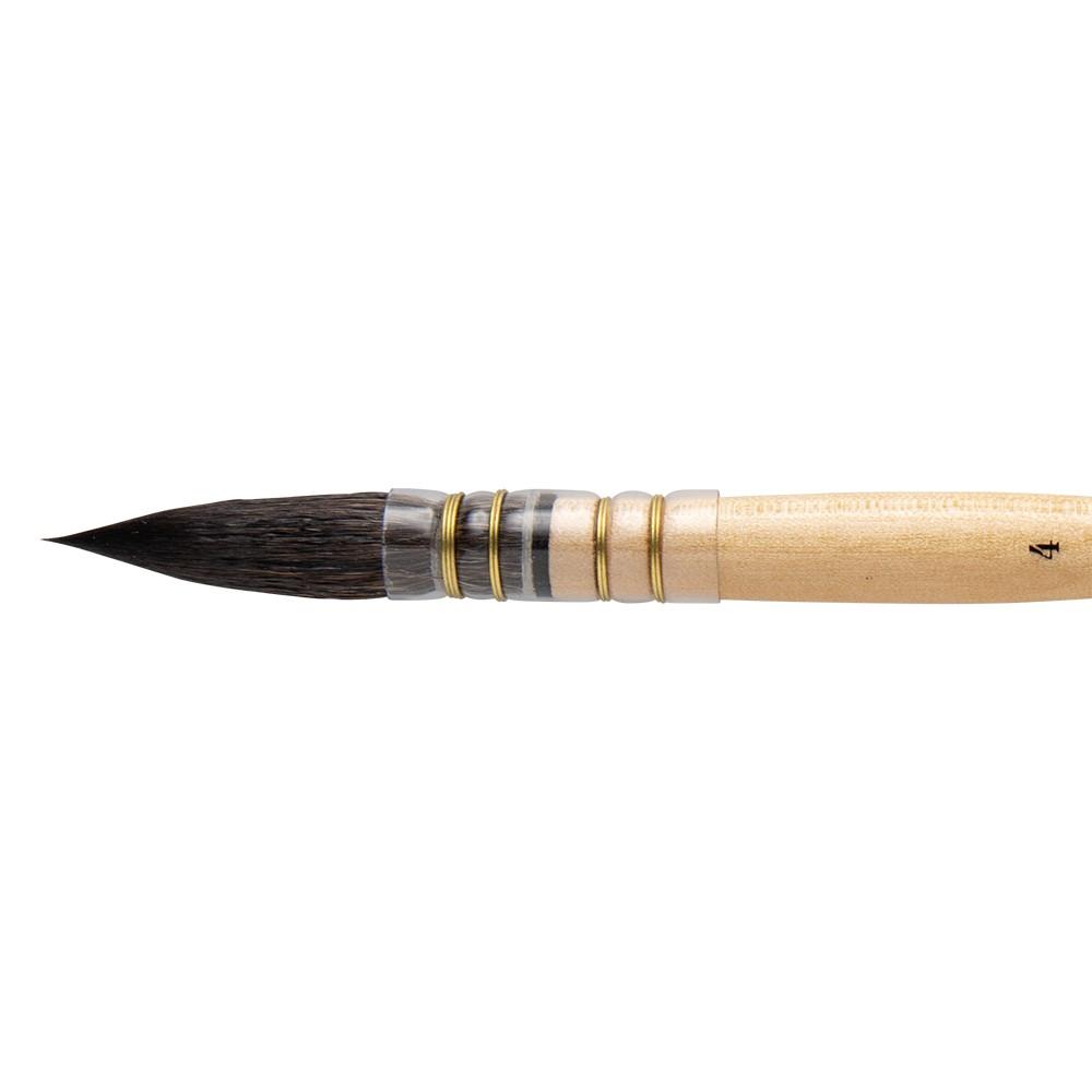 Da Vinci : Aquarelle :Pinceau: Poil d'Hérisson de Russie : Série: Série 318 : #4